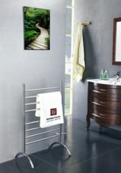 Three new towel warmers from WarmlyYours Radiant Heating